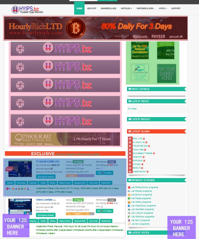 hyips bz - HYIP Investment-HYIP Monitor   Best HYIP Monitor